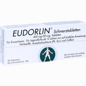 Abbildung von Eudorlin Schmerztabletten  20 Stück