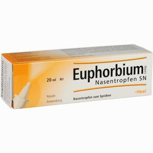 Abbildung von Euphorbium Comp. Nasentropfen Sn 20 ml