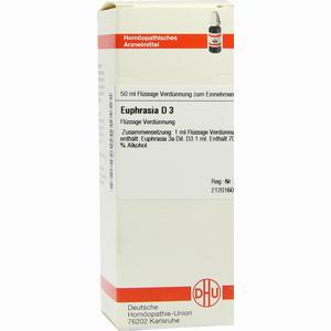 Abbildung von Euphrasia D3 Dilution 50 ml