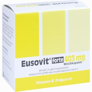 Abbildung von Eusovit Forte 403mg Kapseln 100 Stück