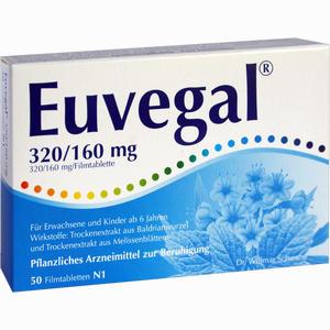 Abbildung von Euvegal 320/160mg Filmtabletten 50 Stück