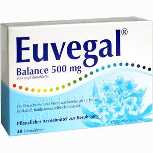 Abbildung von Euvegal Balance 500mg Filmtabletten 40 Stück