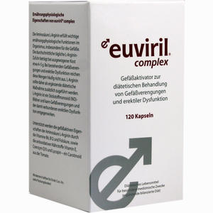 Abbildung von Euviril Complex Kapseln 120 Stück