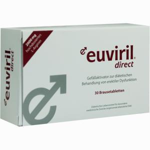 Abbildung von Euviril Direct Brausetabletten 2 x 15 Stück