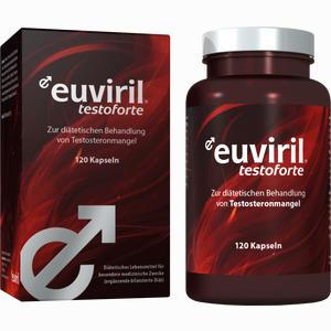 Abbildung von Euviril Testoforte Kapseln 120 Stück