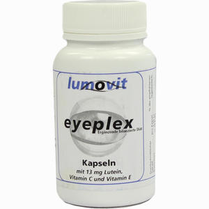 Abbildung von Eyeplex Nahrungsergänzungsmittel Kapseln 30 Stück