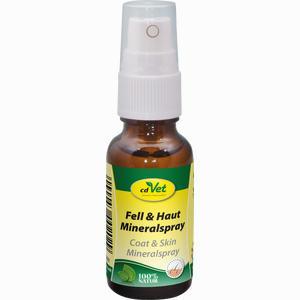 Abbildung von Fell und Haut Mineralspray Vet  20 ml