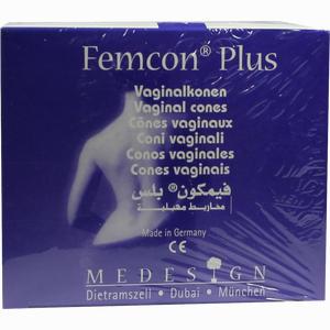 Abbildung von Femcon Plus Vaginalkonen Set 1 Packung