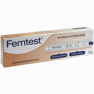 Abbildung von Femtest Schwangerschaftstest  1 Stück