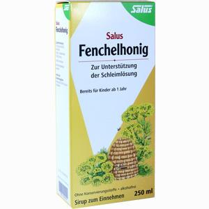 Abbildung von Fenchelhonig Salus Sirup 250 ml