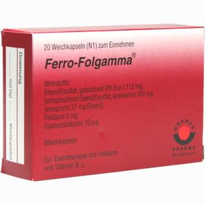 Abbildung von Ferro Folgamma Kapseln 20 Stück