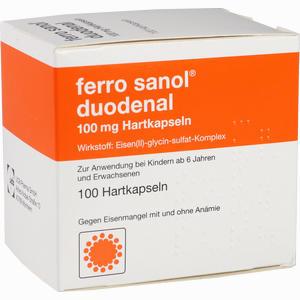 Abbildung von Ferro Sanol Duodenal Kapseln 100 Stück