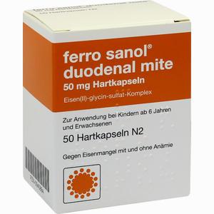 Abbildung von Ferro Sanol Duodenal Mite 50mg Kapseln 50 Stück
