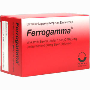 Abbildung von Ferrogamma Kapseln 50 Stück