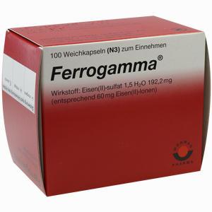 Abbildung von Ferrogamma Kapseln 100 Stück