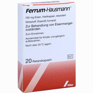 Abbildung von Ferrum Hausmann Retardkapseln 20 Stück