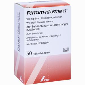 Abbildung von Ferrum Hausmann Retardkapseln 50 Stück