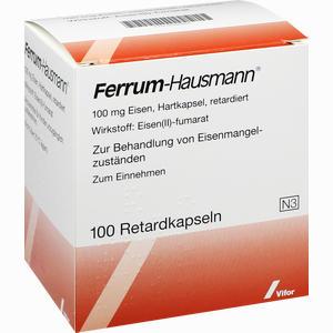 Abbildung von Ferrum Hausmann Retardkapseln 100 Stück
