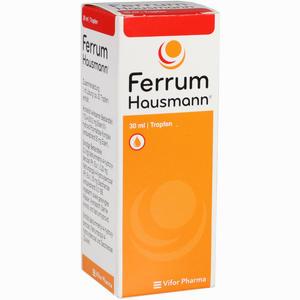 Abbildung von Ferrum Hausmann Tropfen 30 ml