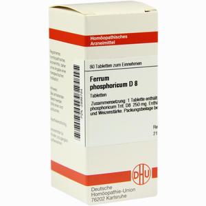 Abbildung von Ferrum Phosphoricum D8 Tabletten 80 Stück