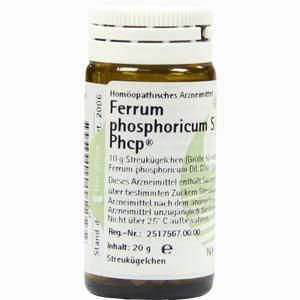 Abbildung von Ferrum Phosphoricum S Phcp Globuli  20 g