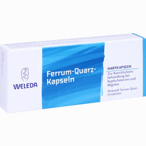 Abbildung von Ferrum Quarz Kapseln 20 Stück