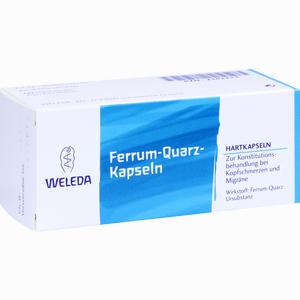 Abbildung von Ferrum Quarz Kapseln  50 Stück