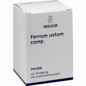 Abbildung von Ferrum Ustum Comp Trituration 50 g