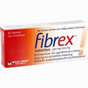 Abbildung von Fibrex Tabletten  20 Stück