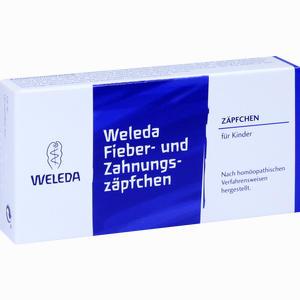 Abbildung von Fieber- und Zahnungszäpfchen  10 Stück