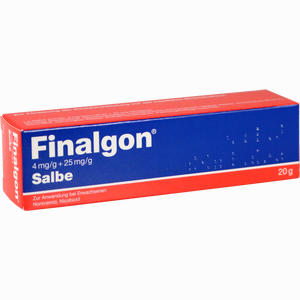 Abbildung von Finalgon 4mg/g + 25mg/g Salbe  20 g