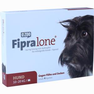 Abbildung von Fipralone - 134 Mg Lösung Zum Auftropfen für Mittelgroße Hunde (m) 4 Stück