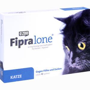 Abbildung von Fipralone 50mg Lösung Zum Auftragen für Katzen Vet.  4 Stück
