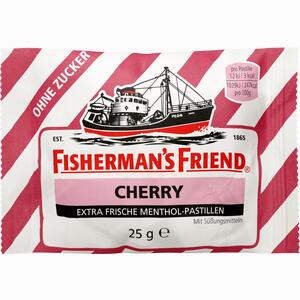 Abbildung von Fishermans Friend Cherry Ohne Zucker Pastillen  25 g