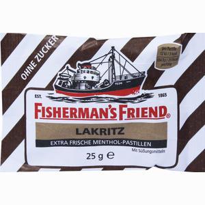 Abbildung von Fishermans Friend Lakritz Ohne Zucker Pastillen  25 g