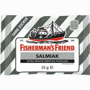 Abbildung von Fishermans Friend Salmiak Ohne Zucker Pastillen  25 g