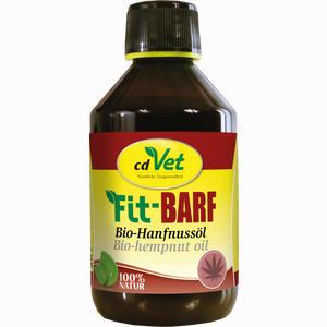Abbildung von Fit- Barf Bio- Hanfnussöl Vet Öl 250 ml