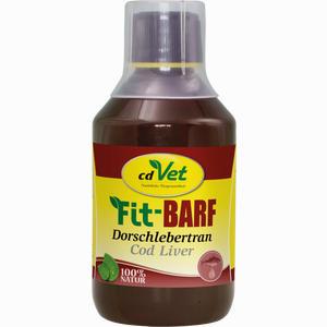 Abbildung von Fit Barf Dorschlebertran Vet Öl 250 g