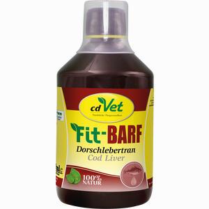 Abbildung von Fit Barf Dorschlebertran Vet Öl 500 ml