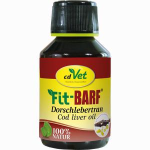 Abbildung von Fit Barf Dorschlebertran Vet Öl 100 ml