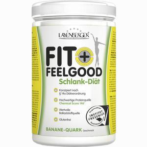 Abbildung von Fit+feelgood Schlank- Diät Banane- Quark Pulver 430 g