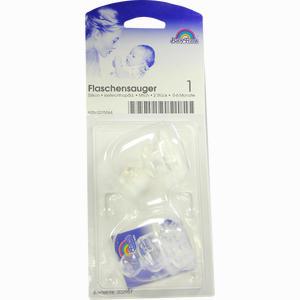 Abbildung von Flaschensauger Kieferorthopädisch Aus Silikon für Milch mit Ventil 0- 6 Monate 2 Stück