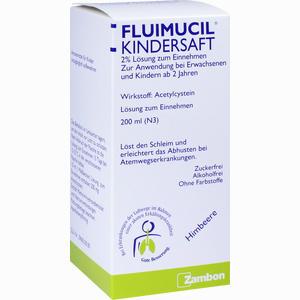 Abbildung von Fluimucil Kindersaft  200 ml