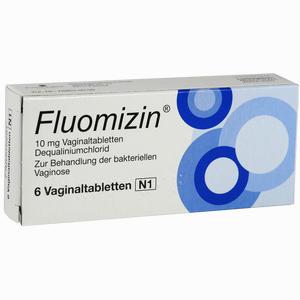 Abbildung von Fluomizin 10mg Vaginaltabletten Pierre fabre pharma 6 Stück
