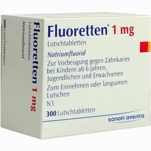 Abbildung von Fluoretten 1.0mg Lutschtabletten 300 Stück