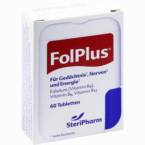 Abbildung von Fol Plus Laktosefrei Tabletten 60 Stück