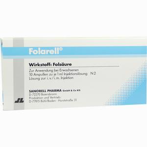 Abbildung von Folarell Ampullen 10 x 1 ml