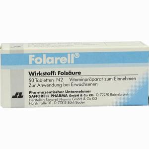 Abbildung von Folarell Tabletten 50 Stück