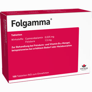 Abbildung von Folgamma Tabletten 100 Stück