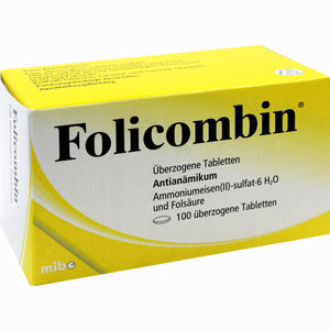 Abbildung von Folicombin Tabletten 100 Stück